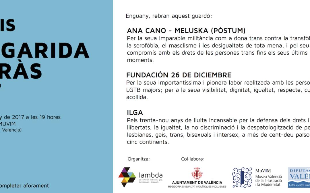 Lambda entrega los Premios Margarida Borràs